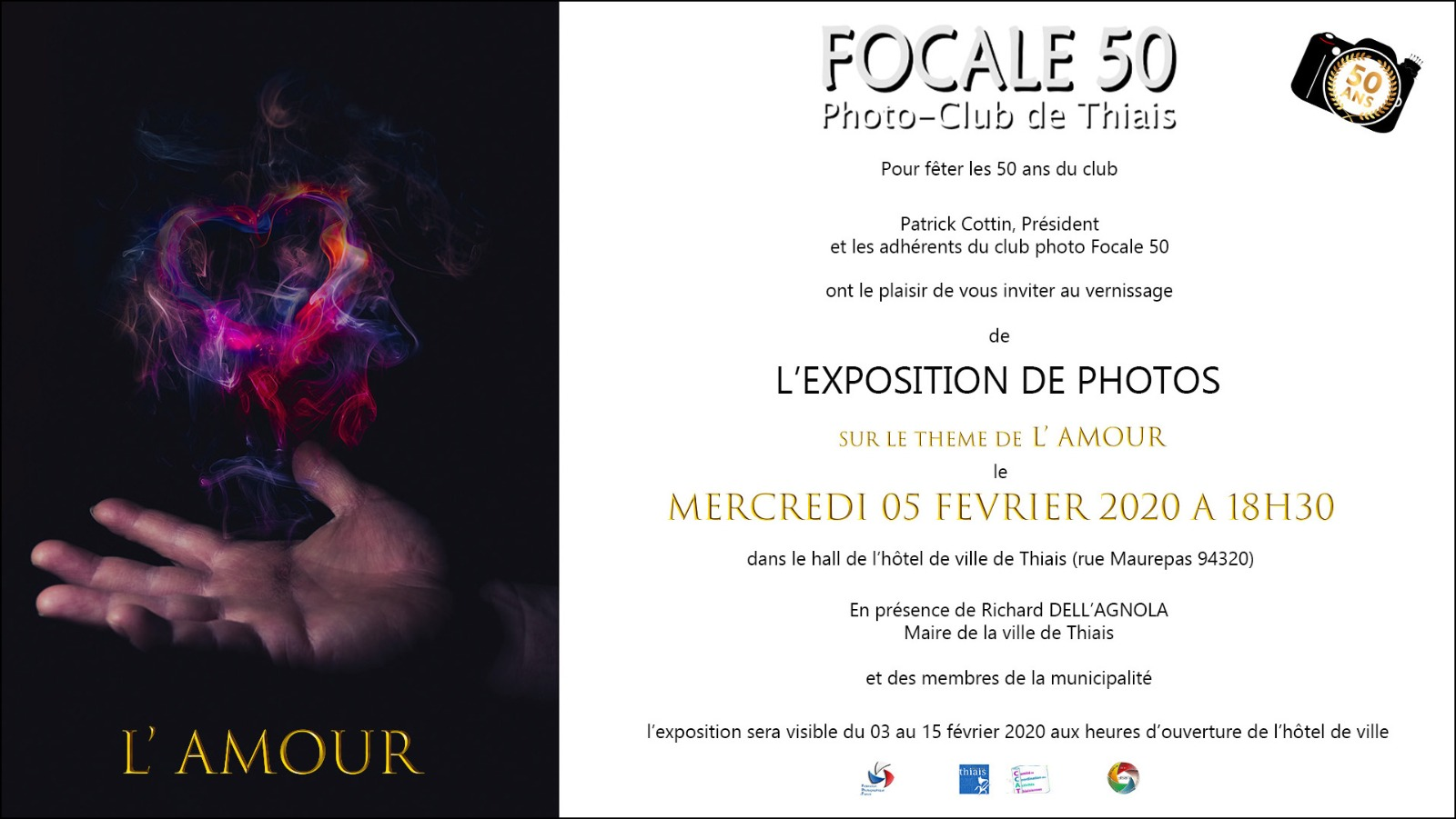 vernissage expo F50